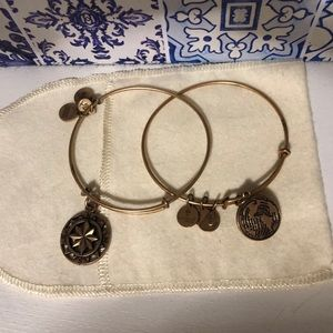 Alex and Ani Bundle (two bracelets)